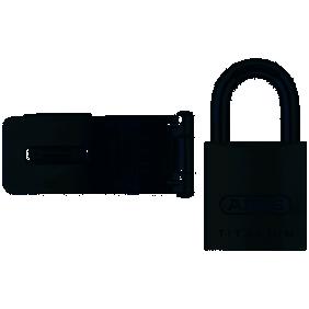 Porte-Cadenas 115 mm + cadenas 80Ti 40 mm - Titalium™ ABUS