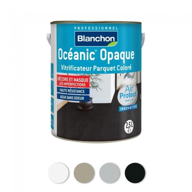 Océanic® vitrificateur parquet coloré opaque BLANCHON