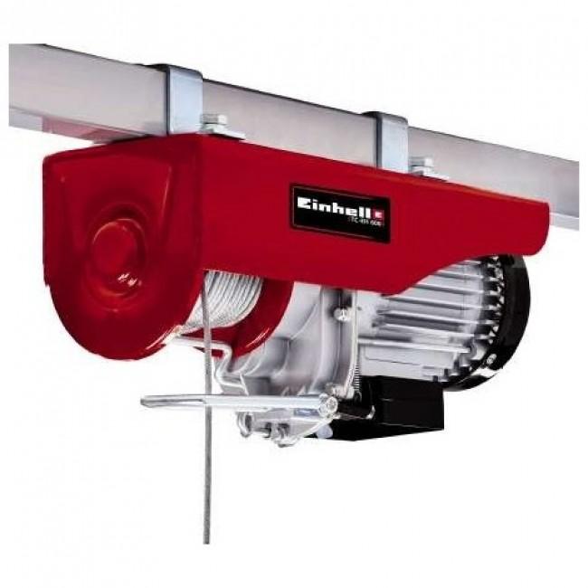 Palan électrique TC-EH 600 - capacité de levage 600 kg EINHELL