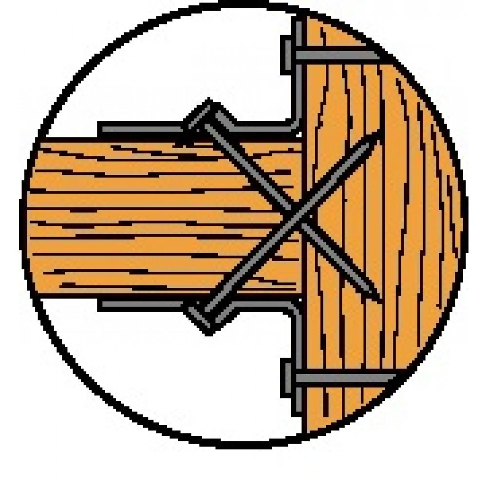 1dcc68c215fdc Sabot de charpente à bretelles - JHA SIMPSON Strong-Tie | Bricozor
