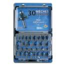 Coffret 30 mèches carbure pour défonceuse queue 8 mm LEMAN