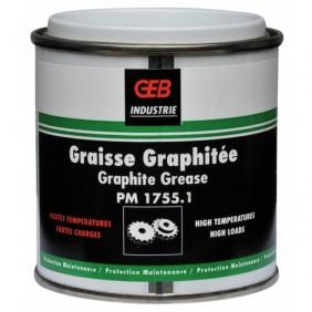 Graisse graphitée - résistance haute température et forte charge GEB