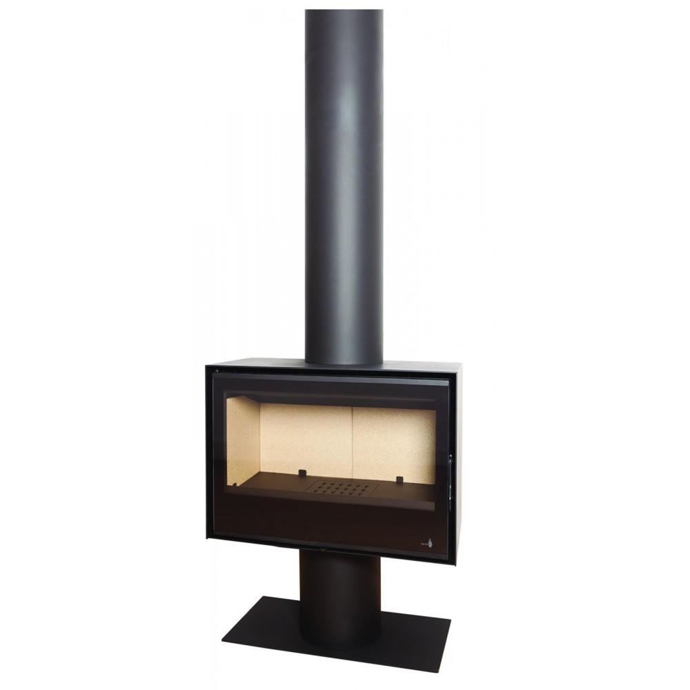 po le bois pour surface 120m2 l70 x p35 x h36 cm sl270 termofoc bricozor. Black Bedroom Furniture Sets. Home Design Ideas