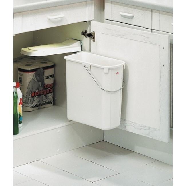 poubelle de porte de cuisine 1 bac de 19 litres wesco. Black Bedroom Furniture Sets. Home Design Ideas