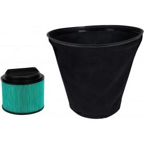 Double filtre à poussière - pour aspirateur eau et poussière EINHELL
