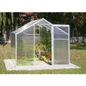Serre de jardin polycarbonate 4mm 3,59m2 Genial II