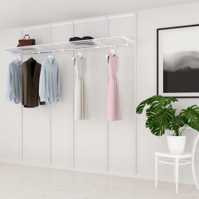 Kit dressing Basique - L210xP40 cm - blanc ELFA