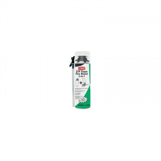 Mousse silane - coupe feu - aérosol 2 en 1 65 ml - STP Foam Fire Resist CRC