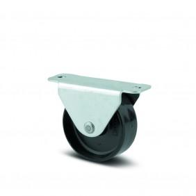 Roulette fixe pour tiroir coulissant - acier - platine - Compacta TENTE