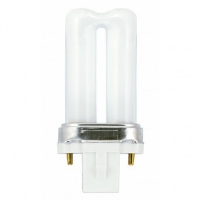 Lampe fluocompacte Biax S 2 broches - culot G23 GE LIGHTING
