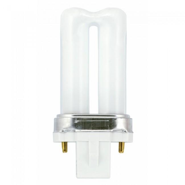 Lampe fluocompacte Biax S 2 broches - culot G23 GE LIGHTING