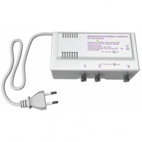 Amplificateur intérieur - VHF / UHF - gain réglable - 20 dB CAE