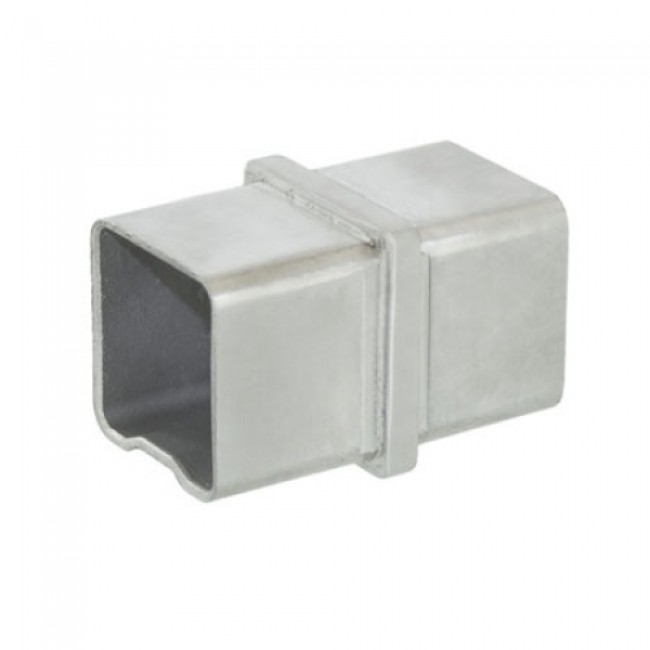 Raccord pour main courante - tube carré 40 x 40 mm - inox Design Production