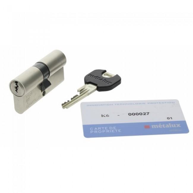 Cylindre de sécurité K6 A2P* pour serrure Amazone A2P* MÉTALUX