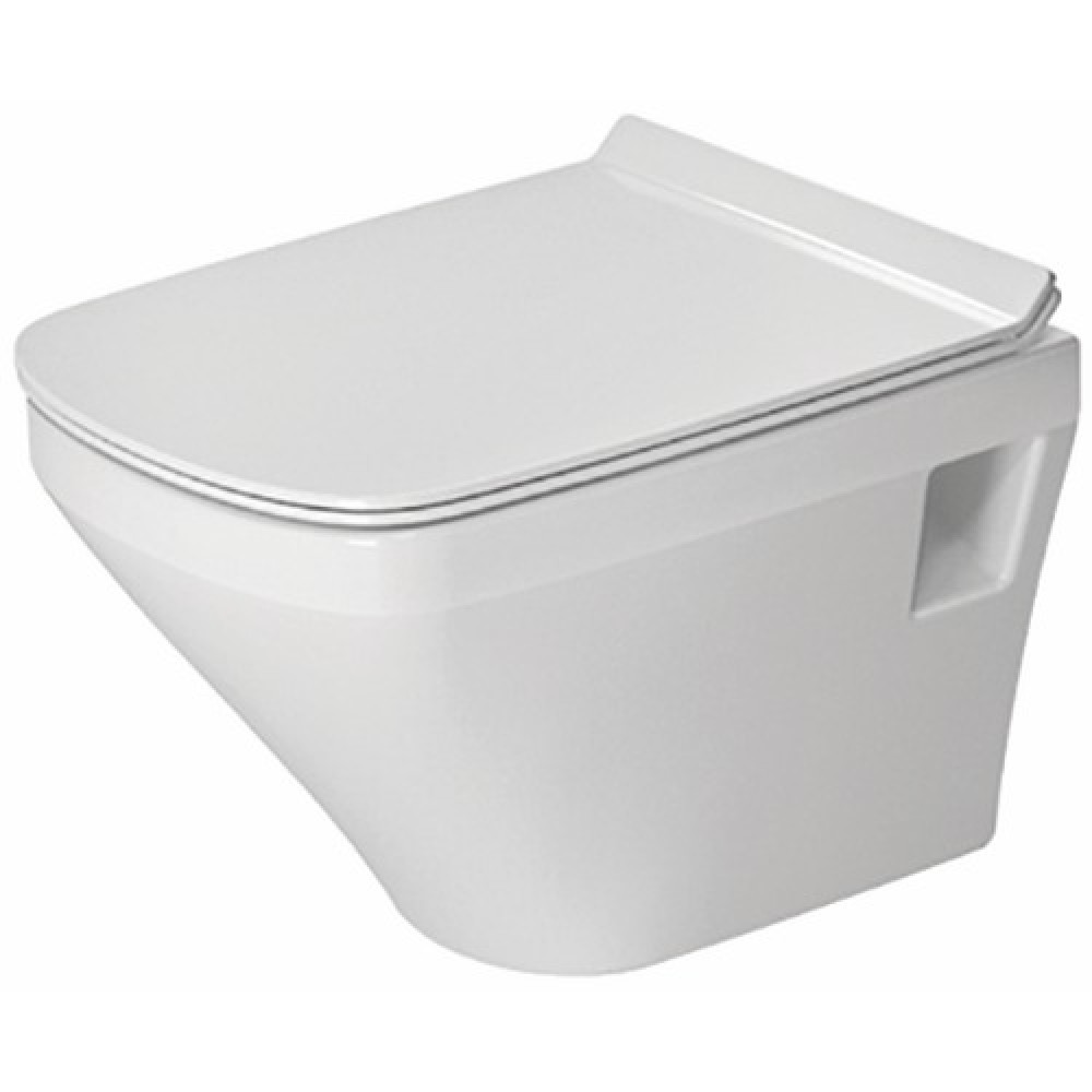 Marque De Toilette Suspendue cuvette wc suspendue en céramique - fond creux - durastyle compact duravit  sur bricozor