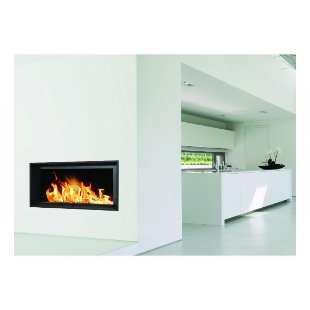 insert bois pour surface 160 m2 l115 x p49 5 x h114. Black Bedroom Furniture Sets. Home Design Ideas