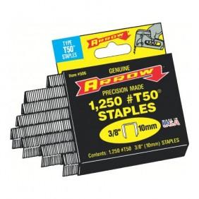 Agrafes T50 - compatibles agrafeuses T50P et marteau agrafeur H50P ARROW