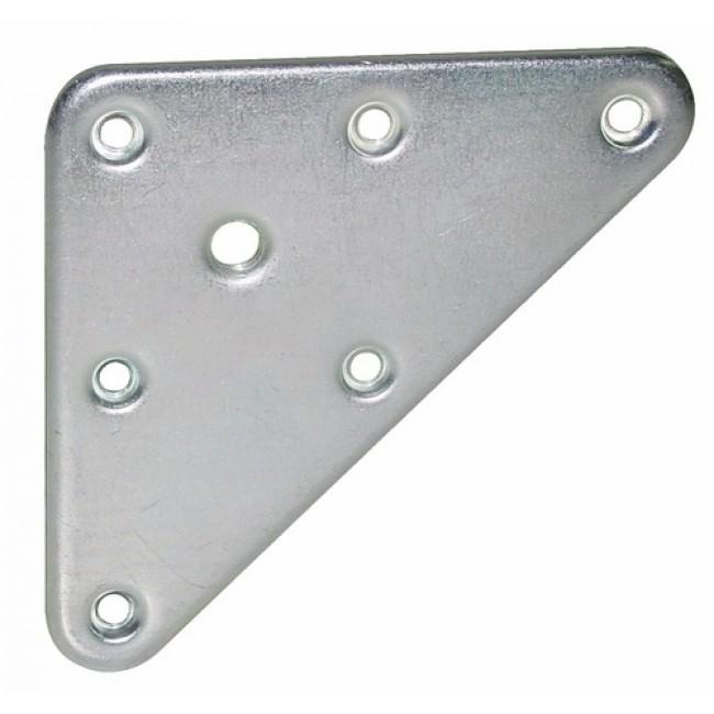 Plaque de fixation triangulaire LUDMANN