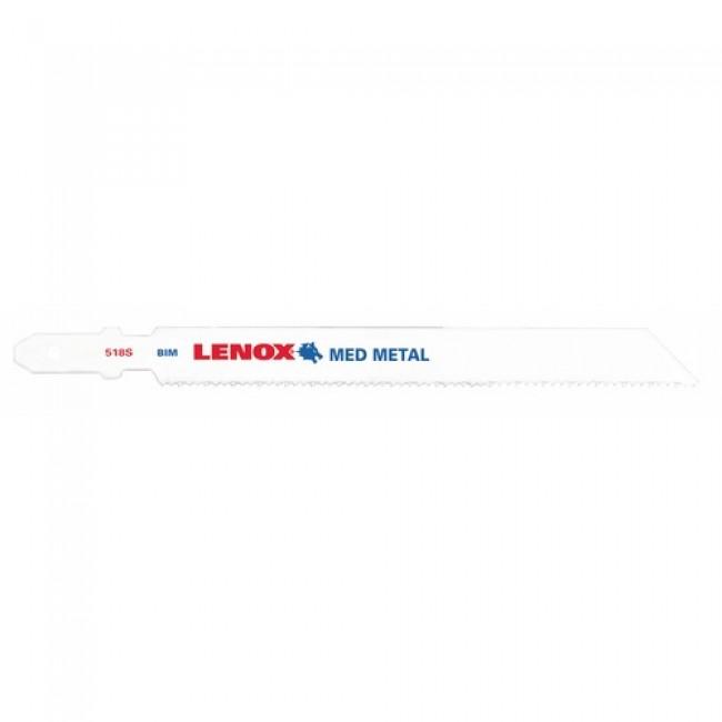Lame de scie sauteuse bi-métal pour tôles et profilés acier-F 518 S LENOX