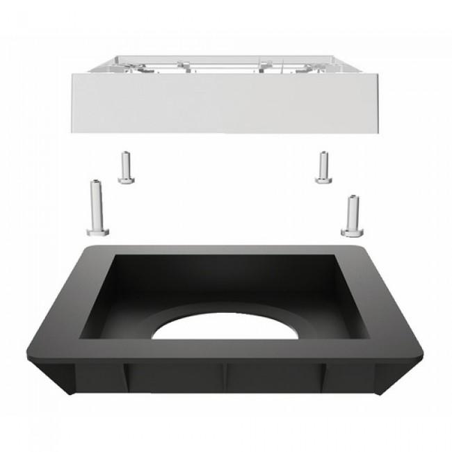 bonde de douche extra plate pour douche l 39 italienne quadratto valentin bricozor. Black Bedroom Furniture Sets. Home Design Ideas