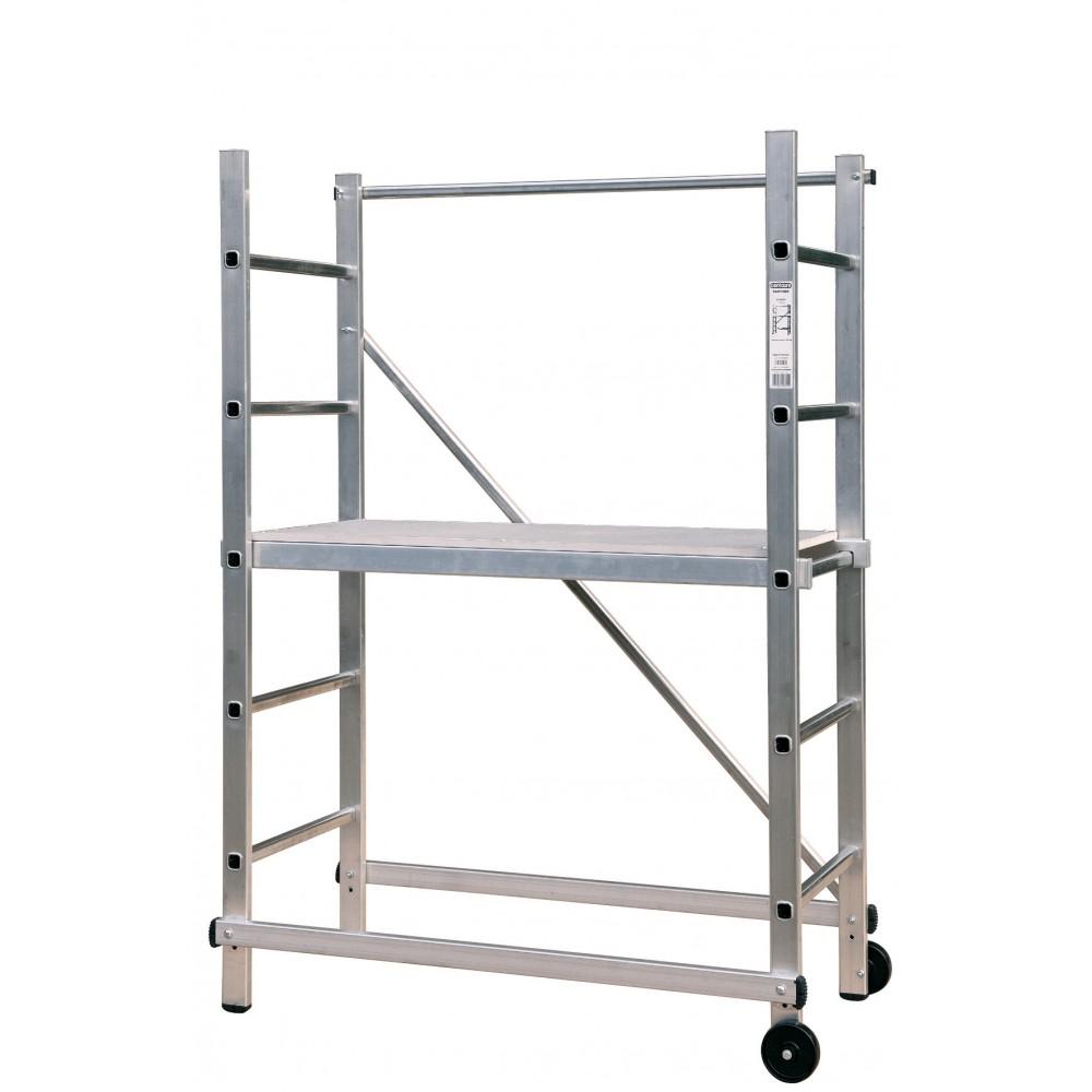 echafaudage aluminium hauteur de travail 3 m partner centaure bricozor. Black Bedroom Furniture Sets. Home Design Ideas