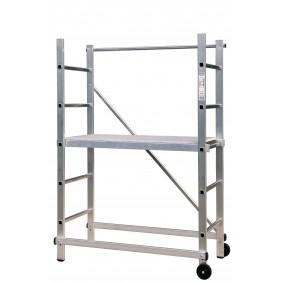 Echafaudage aluminium - hauteur de travail 3 m - Partner CENTAURE