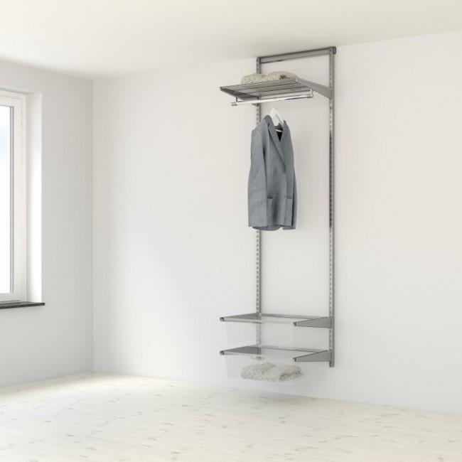 Kit dressing Classique - L60xP40 cm - platinium ELFA