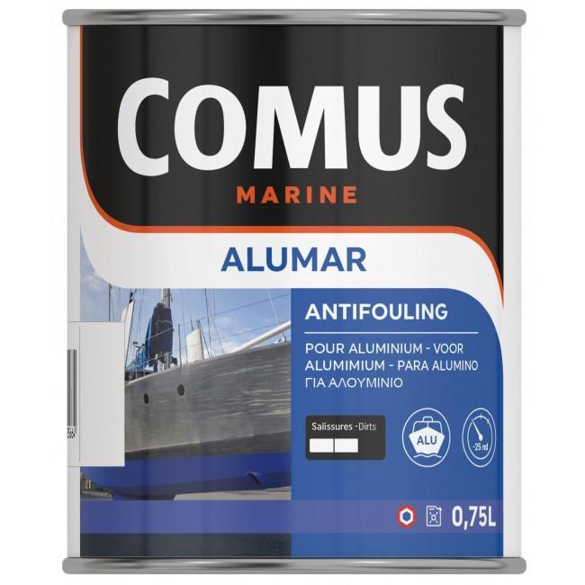 Peinture antifouling  spécial aluminium - Alumar semi-dure COMUS