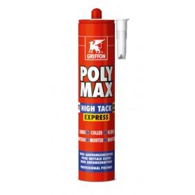 Colle de montage polymère - sans solvant - Polymax High Tack Express GRIFFON