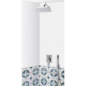 Colonne de douche encastrable murale LOBA avec mitigeur PADOVA SARODIS