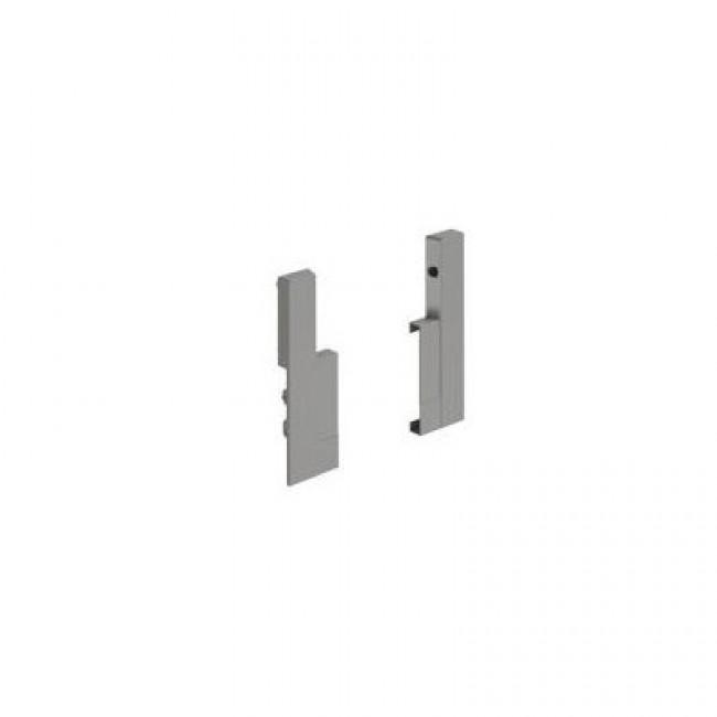 Raccords façade recoupable pour tiroir intérieur hauteur 144mm-argent HETTICH