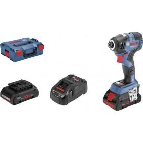 Visseuse à chocs sans-fil GDR 18V-200C et 2 batteries - 06019G4106 BOSCH