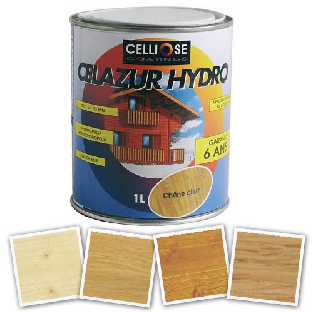 lasure ch ne clair 5 litres celazur hydro bricozor. Black Bedroom Furniture Sets. Home Design Ideas