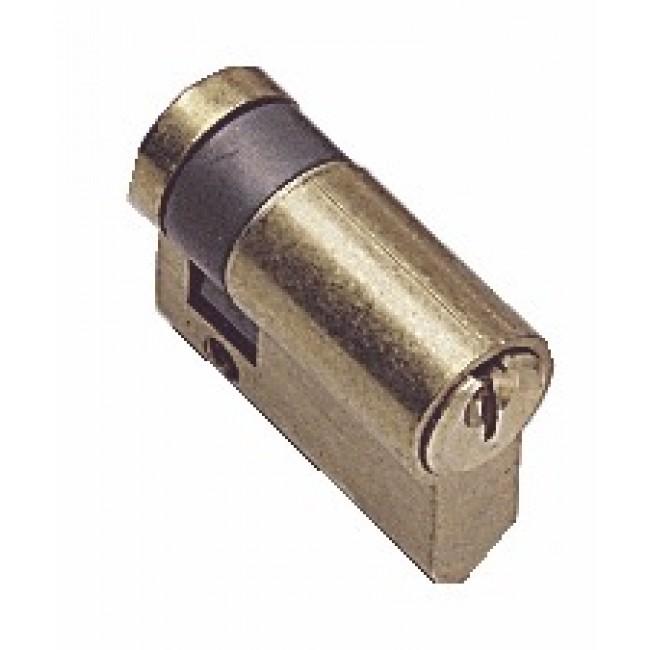 Demi cylindre - 30 x 10 mm - TE-5 - sur passe général - laiton poli TESA Sécurité