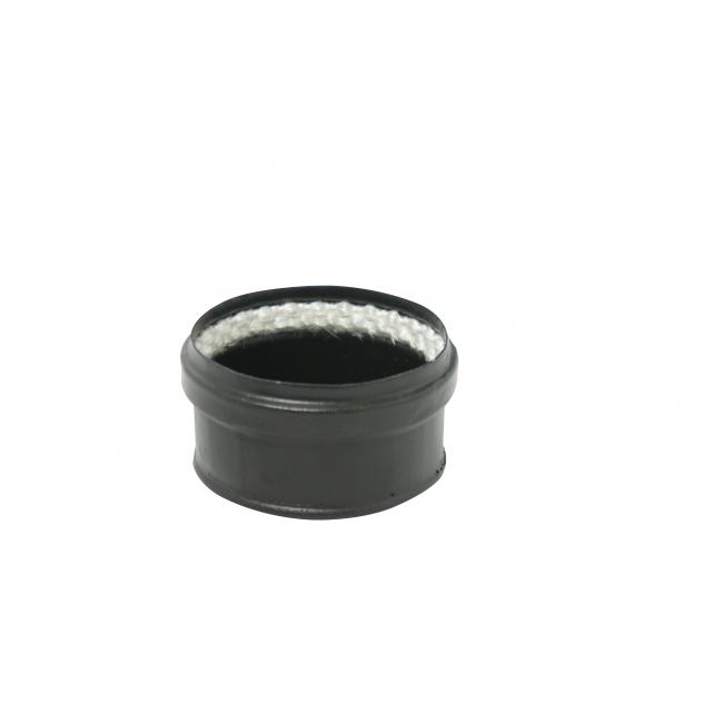 Tampon émail noir pour conduit pellets - joint fibre de verre TEN
