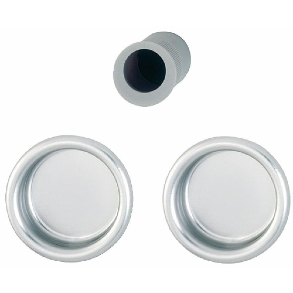Poign es de porte coulissante cuvette m492 en laiton - Poignee de porte ronde laiton ...