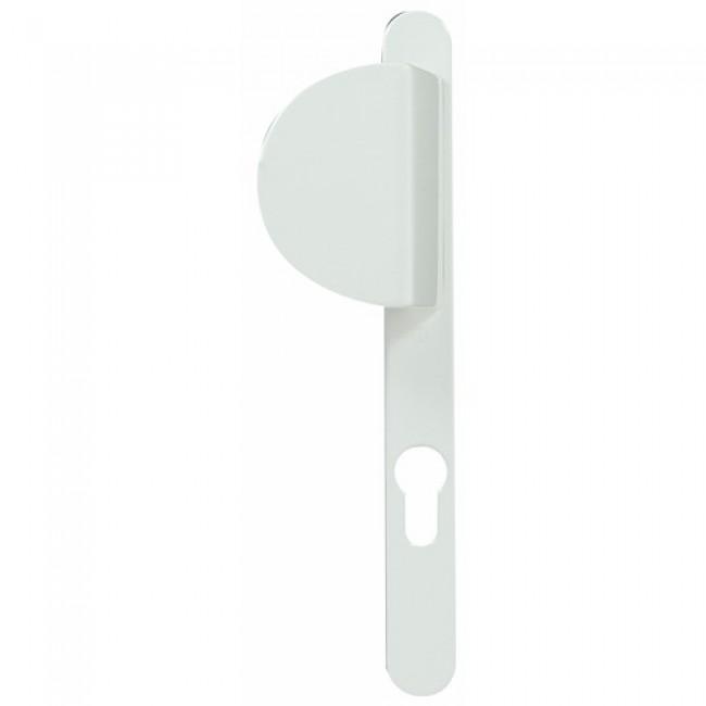 Poignées de porte palière - épaisseur porte 58 à 62 mm - Tokyo blanc HOPPE