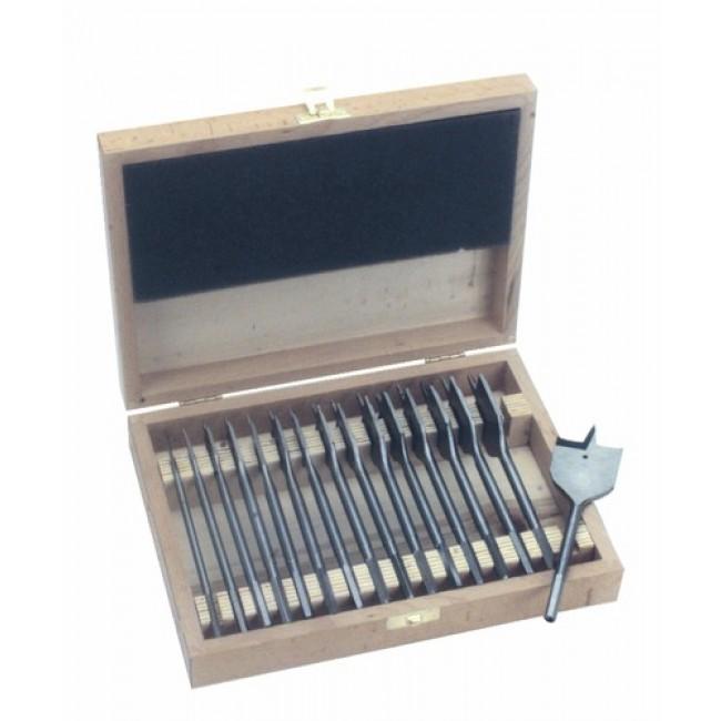 Coffret de 16 mèches à bois plates de 6 à 38 mm FAMMAB