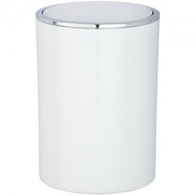 Poubelle à couvercle oscillant pour salle de bain - Inca - 5 L - ABS WENKO
