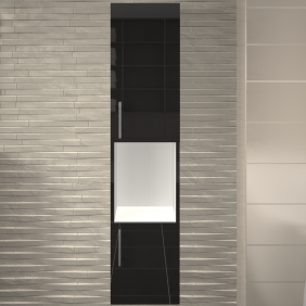 Colonne de salle de bains - 2 portes - différentes finitions  - Lime BAIN ROOM