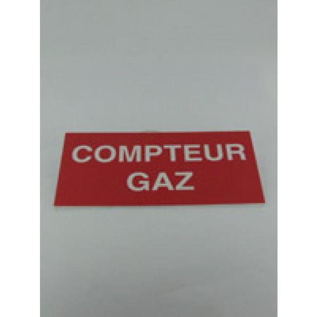 Panneau réglementaire - compteur gaz BRICOZOR