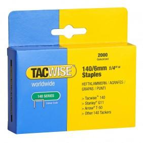 Boîte de 2000 agrafes type 140 - 6 et 8 mm TACWISE