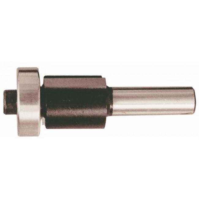 Fraise à plaquettes carbure brasées 2 coupes droites avec guide à billes LEMAN
