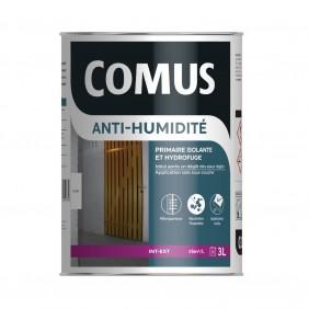Peinture isolante et hydrofuge - anti-humidité blanc - 3 litres COMUS
