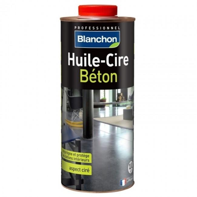 Huile-cire béton - protège les murs et sols en béton BLANCHON