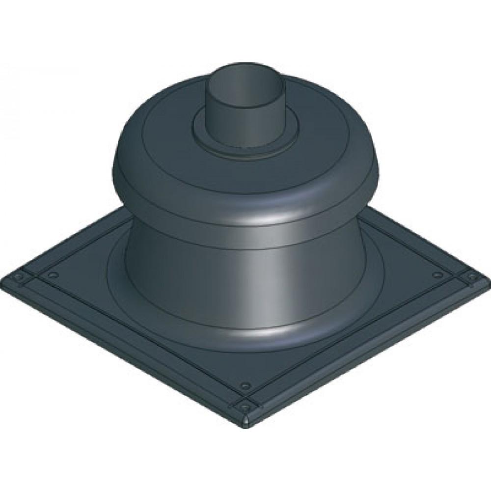 terminal de chemin e noir chaudi re condensation bricozor. Black Bedroom Furniture Sets. Home Design Ideas