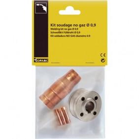 Kit soudage MIG No Gaz 0,9 mm GYS