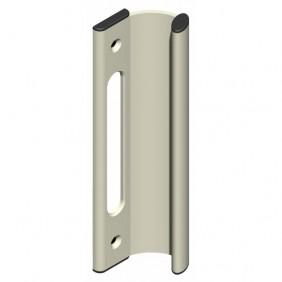 Poignée de tirage encastrée pour coulissant aluminium - série 7247 LA CROISÉE DS