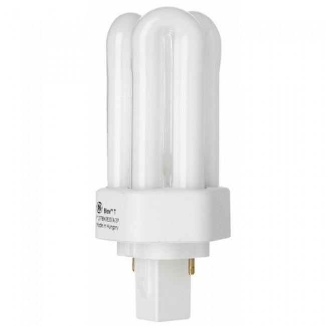 Lampe fluocompacte Biax T - 2 broches - culot Gx24d GE LIGHTING