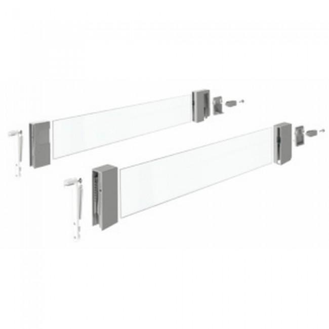 Parois latérales DesignSide pour tiroirs InnoTech Atira-argent HETTICH